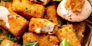 crispy fried silken tofu recipe